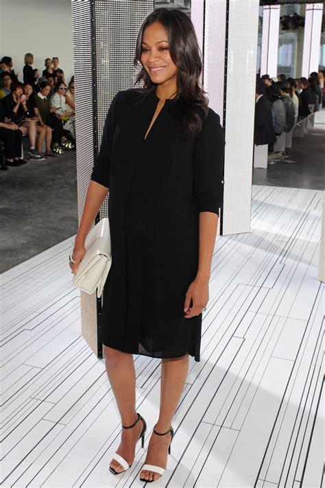 New York Fashion Week Front Row Zoe Hathaway Gisele And Co by New York Fashion Week Front Row And S Bazaar