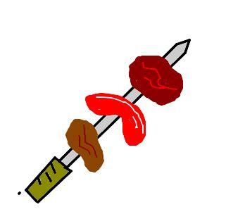 churrasco desenho de gd_4ever gartic
