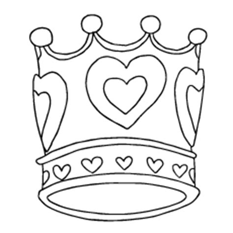printable heart crown printable princess crown coloring pages coloring pages