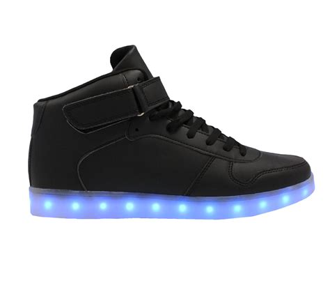 mens light up sneakers galaxy led shoes light up usb charging high top men women