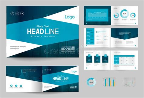 design background company profile business brochure design template and page layout for