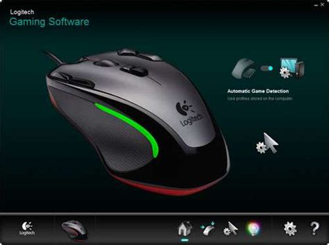 Mouse Gaming Logitech G300 logitech g300 gaming mouse review techgage