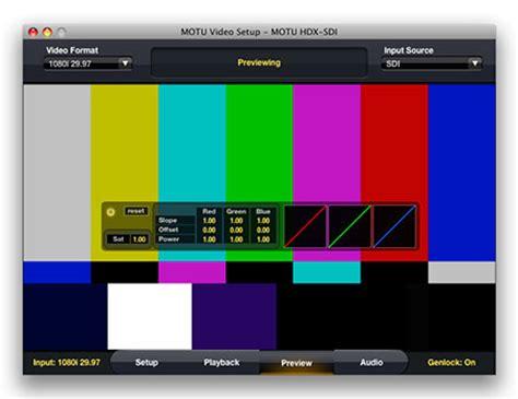color grading workflow motu color grading