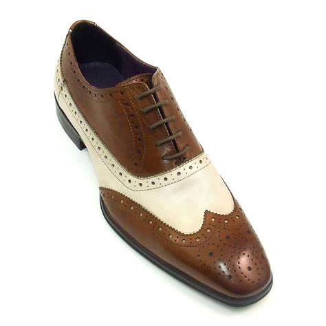 Best Handmade Shoes Uk - spectator shoes two tone shoes brown and