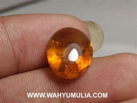 Batu Akik Permata Orange Opal batu opal barjad api orange kode 542 wahyu mulia