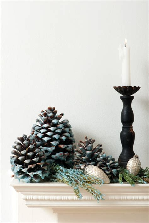 pine cone home decor wax dipped pine cones make pretty and practical ornaments