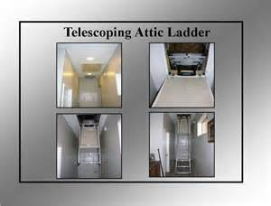 telescoping and fakro attic ladders