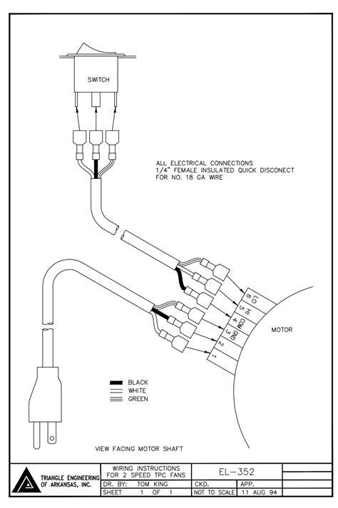 indoor ac fan motor wiring diagram ac motor reversing