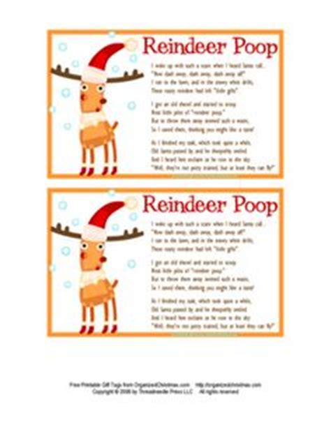 printable turkey poop poem printable reindeer poop poem from freesantaletters net