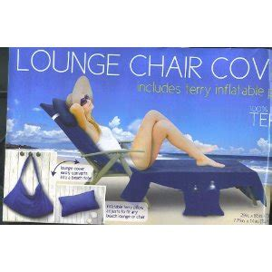 Lounge Chair Covers With Pockets by Lounge Chair Cover With Pockets Pillow Blue Size 29in