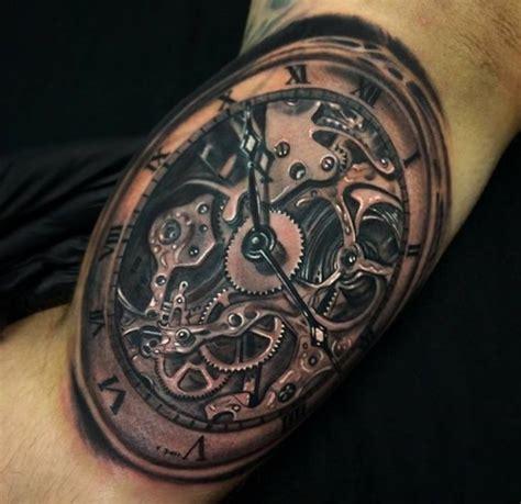 Mechanical Watch Tattoo   watch tattoos askideas com