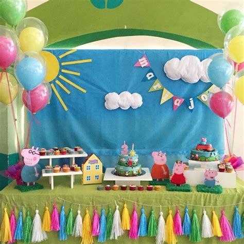 decoracion cumplea os peppa pig de cumplea 241 os peppa pig 63 tips s 250 per divertidos peppa pig fiestas de cumplea 241 os y