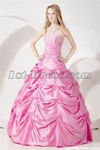pretty dresses pretty pink quinceanera dresses cheap 1st dress