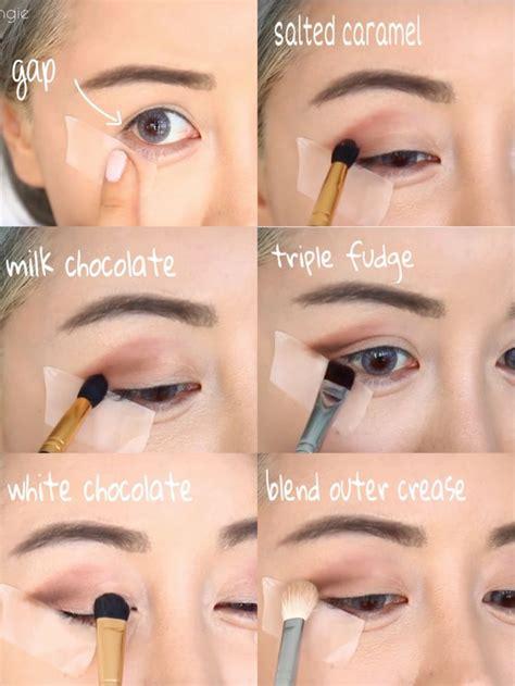 eyeshadow tutorial chocolate bar too faced all matte chocolate bar palette tutorial shop