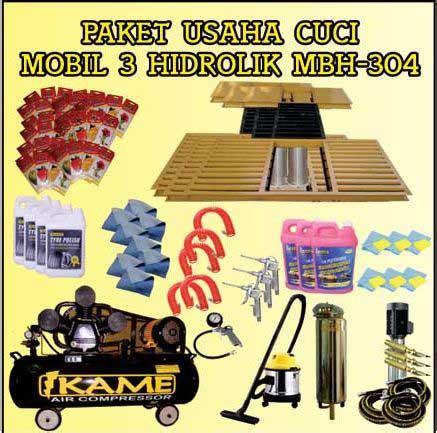 Paket Peralatan Usaha Cuci Mobil 5 Hidrolik Type X Berkualitas paket usaha cuci mobil 3 hidrolik type h mbh 304 istana