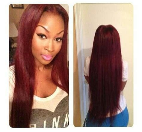 weave bob red dyed 17 best images about sew ins on pinterest lace closure
