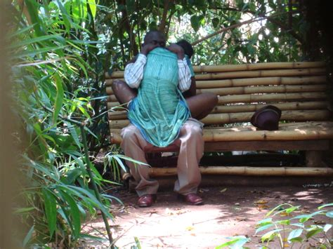 kenya sex bench kenyan citizens caught on camera having physical s x in muliro garden adults only