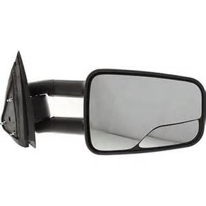 aftermarket blind spot mirrors gm1321298 rh manual door mirror tow type with blind spot
