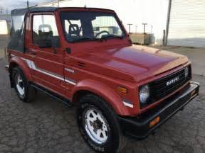 Jeep Suzuki Samurai For Sale Suzuki Samurai 4x4 Rust Free 2nd Owner Must See