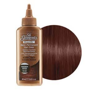 silk elements mega silk semi permanent hair color