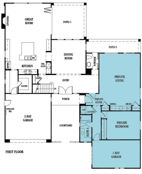 lennar next gen floor plans 4644 next gen by lennar new home plan in estancia east by
