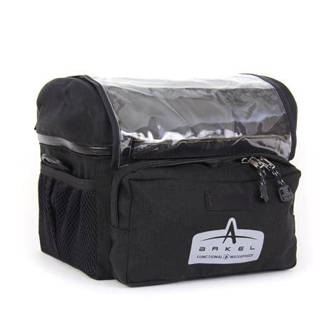 Bicycle Bag bike handlebar bag large handlebar bag by arkel