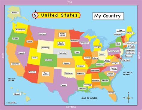 map of usa for kindergarten pin kindergarten map benalto school rural community on