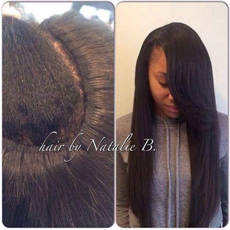 sew ins with human natural hair tired of bulky sew ins i create my signature flawless sew