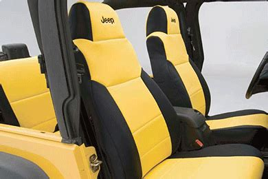 1993 jeep wrangler yj seat covers coverking jeep neoprene seat covers best price on