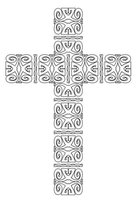 cross mandala coloring pages free printable cross coloring pages coloring christian
