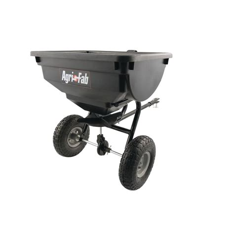 Purple 46 Fab Products by Agri Fab 85 Lb Tow Spreader 45 0530 The Home Depot