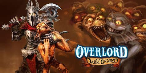 overlord dark legend wii games nintendo