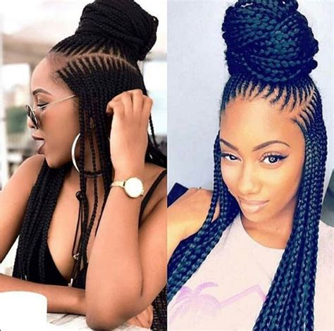 latest ghana weaving hairstyles 2019 that will make you