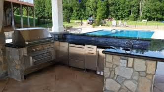 Outdoor Kitchen Design fireplaces amp outdoor kitchens revolutionary gardens