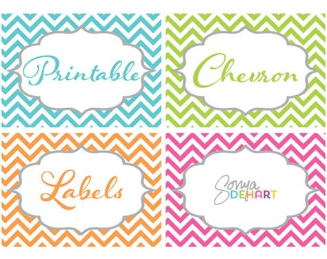 printable chevron label 7 best images of printable chevron labels free printable