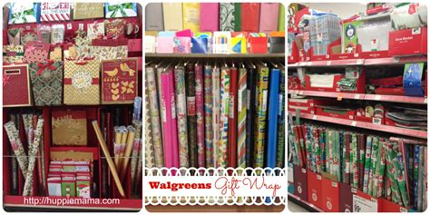 walgreens gift wrap options our potluck family