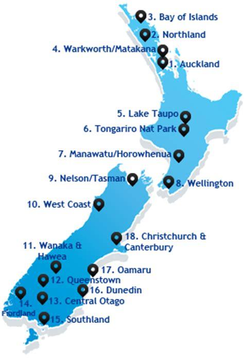 new zealand trip planner map   deboomfotografie