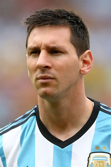 argentina hairstyle lionel messi photos nigeria v argentina group f 4939