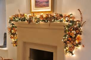 Images of christmas garland with lights for mantle best home design