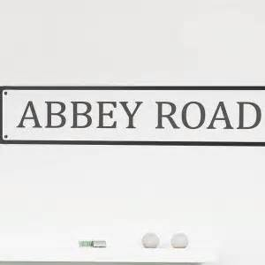 personalised name wall stickers personalised road name wall sticker contemporary wall stickers