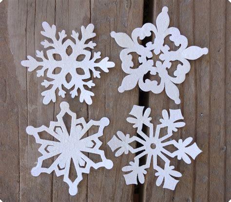 Schneeflocken Aus Papier Basteln by Schneeflocken Basteln