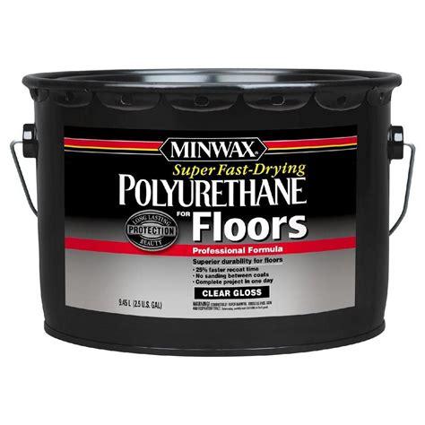 polyurethane for hardwood floors reviews minwax 2 5 gal gloss fast drying polyurethane for