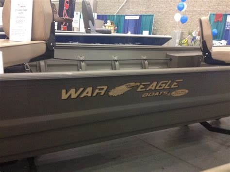 war eagle boats in saltwater war eagle 542fs boats for sale