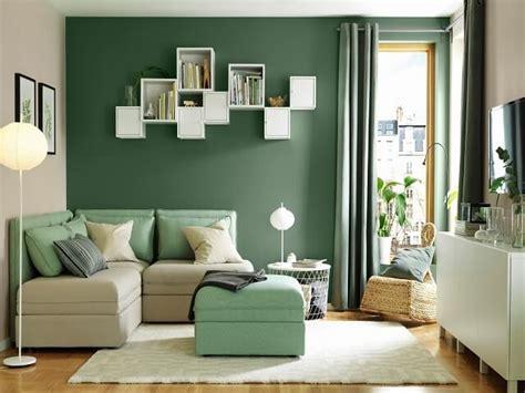 tren cat warna hijau pilihan warna ruangan terbaru