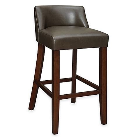Low Back Bar Stool Landon Low Back Stool Bed Bath Beyond
