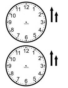 clock template ins pi re math make your own class set of clocks