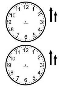 clockface template ins pi re math make your own class set of clocks