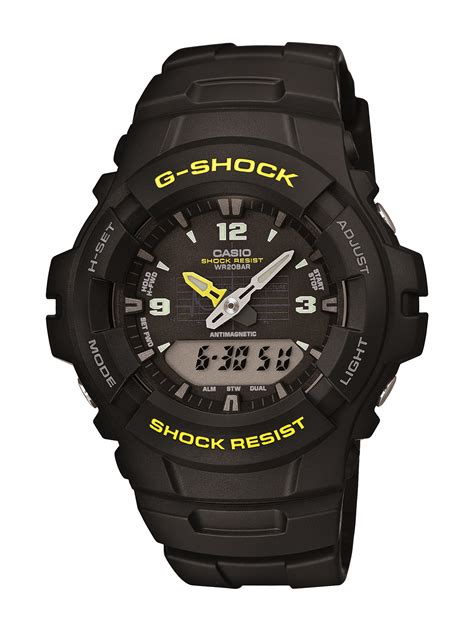 Casio Analog Casio casio mens g shock black analog digital ebay