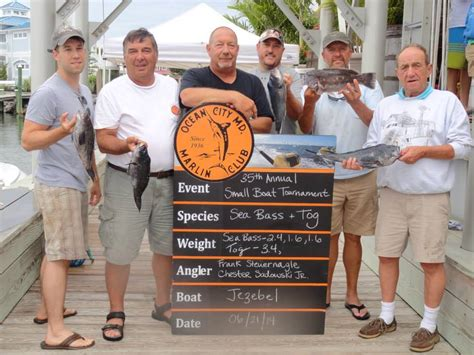 fishing boat oppor tuna ty anglers reel in variety of fish during tourney oceancity
