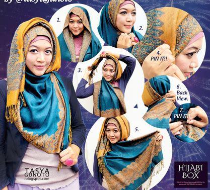 kreasi sanggul modern 2015 5 kreasi hijab modern terbaru 2016